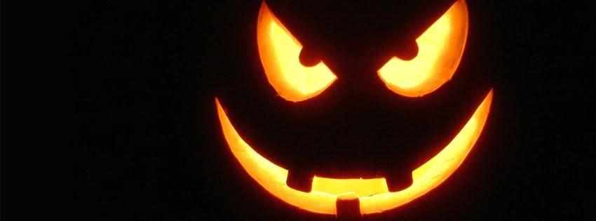 Ảnh bìa Facebook Halloween dễ thương mà không kém rùng rợn