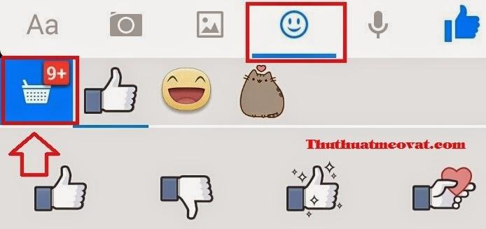 Biểu tượng cảm xúc, icon hình ảnh vui nhộn khi chat Facebook