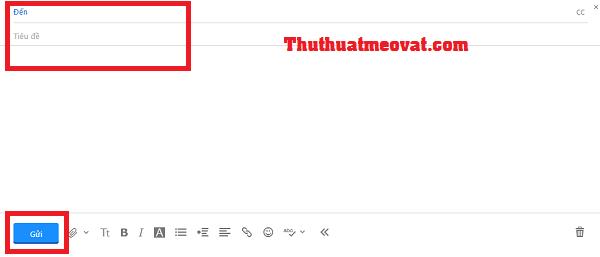 Hướng dẫn gửi thư điện tử ( email) bằng Yahoo! mail