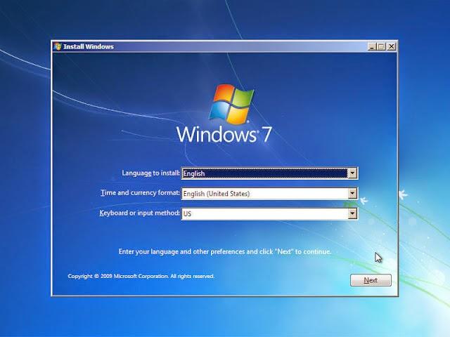 Hướng dẫn cách cài đặt windows 7 từ ổ Đĩa, USB bằng hình ảnh