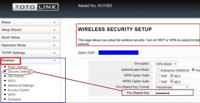 Hướng dẫn cách đổi mật khẩu password Wifi Viettel Totolink