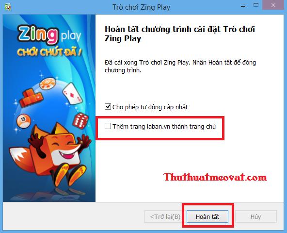 Hướng dẫn cách tải về, cài đặt & chơi game với Zing Play