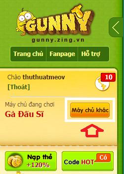 Hướng dẫn cách tạo, lập nick Gunny Việt Nam mới nhanh nhất