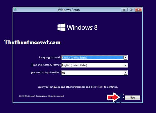 Hướng dẫn cài đặt windows 8/8.1 từ ổ DVD/USB bằng hình ảnh