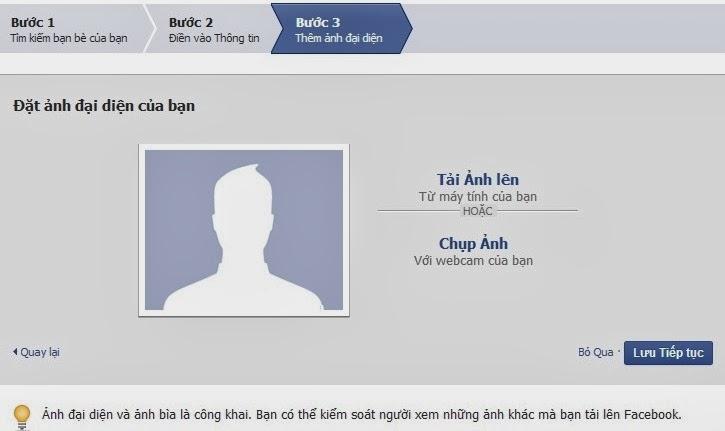 Cách đăng ký tài khoản facebook