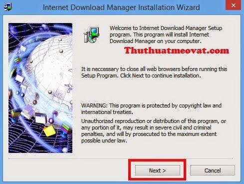 Hướng dẫn download và cài đặt phần mềm IDM