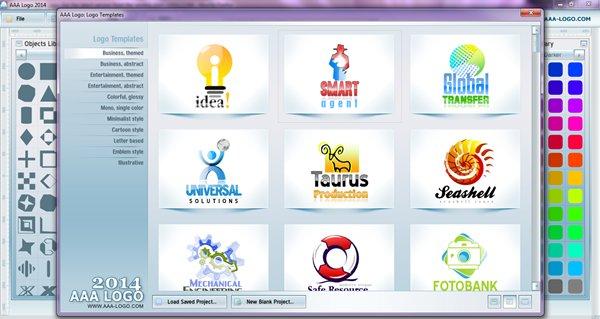 Phần mềm thiết kế Logo AAA Logo