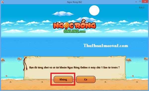 Tải về & đăng ký tài khoản Ngọc Rồng Online trên máy tính