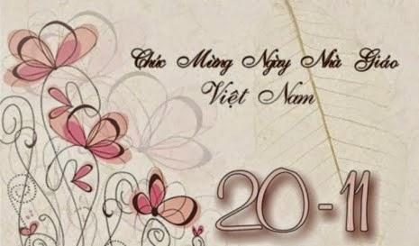 Thiệp 20-11 đẹp nhất, ý nghĩa nhất